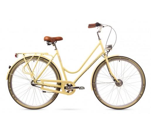 Bicicleta oras Romet Cameo Crem 2016