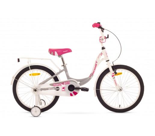Bicicleta copii Romet Diana 20 Alb/Gri 2016