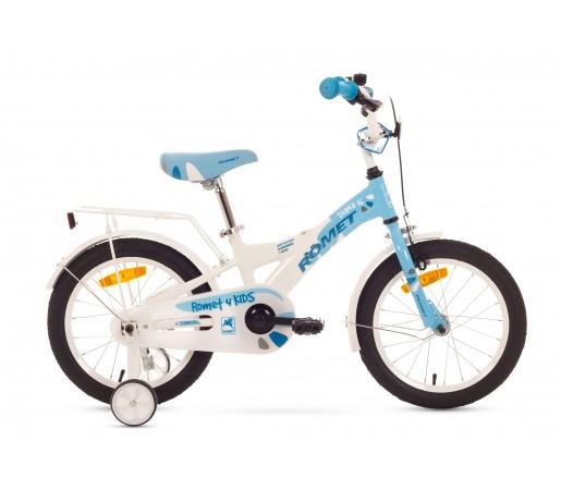 Bicicleta copii Romet Diana K 16 Alb/Albastru 2016