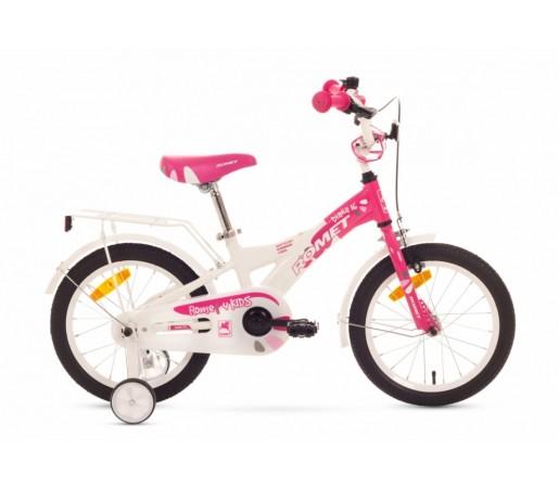 Bicicleta copii Romet Diana K 16 Alb/Roz 2016