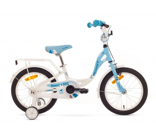 Bicicleta copii Romet Diana S 16 Alb/Albastru 2016