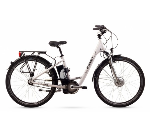 Bicicleta oras Romet Expression Alba 2016