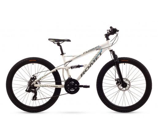 Bicicleta copii Romet Fusion Alba 2016