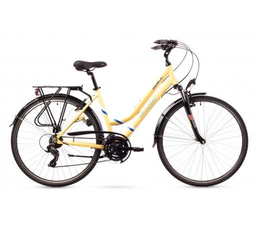 Bicicleta trekking Romet Gazela 1 Crem 2016