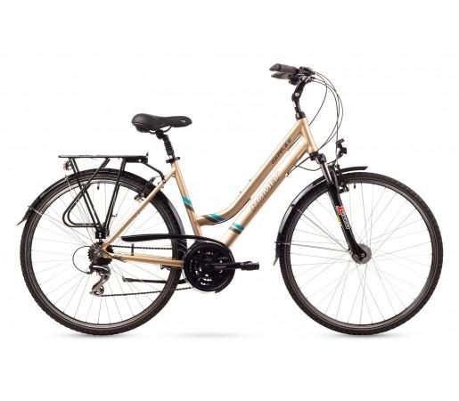Bicicleta trekking Romet Gazela 2 Crem 2016