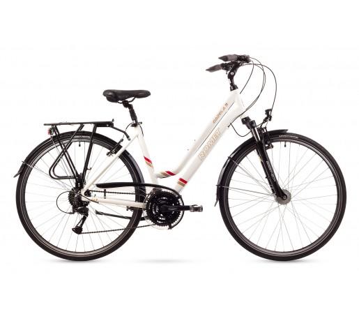 Bicicleta trekking Romet Gazela 3 Alba 2016