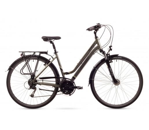 Bicicleta trekking Romet Gazela 4 Gri 2016