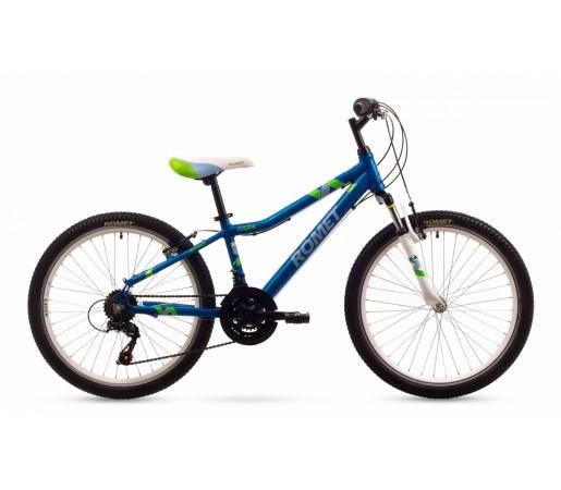 Bicicleta copii Romet Jolene 24 Albastra 2016