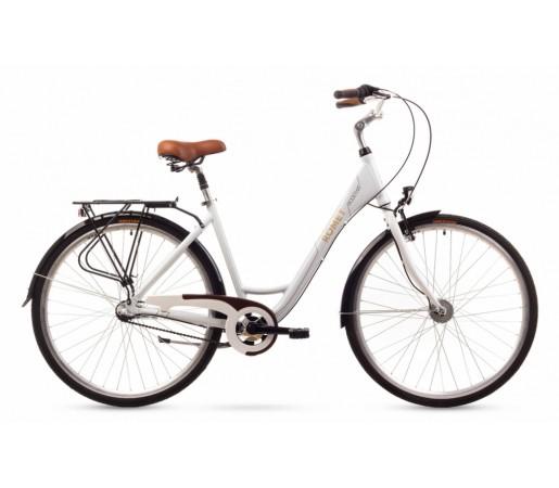 Bicicleta oras Romet Moderne 3 Alba 2016