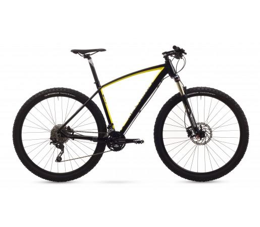 Bicicleta de munte Romet Mustang 1 Negru/Galben 2016
