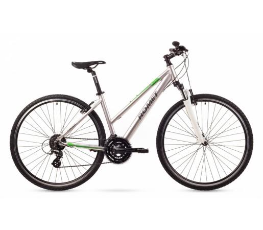 Bicicleta cross Romet Orkan 2D Argintie 2016