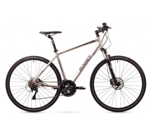 Bicicleta cross Romet Orkan 5M Argintie 2016