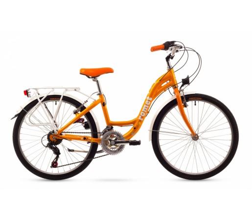 Bicicleta copii Romet Panda 24 Portocalie 2016