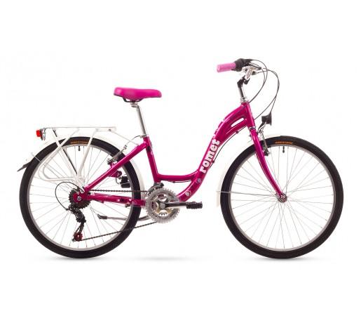 Bicicleta copii Romet Panda 24 Roz 2016