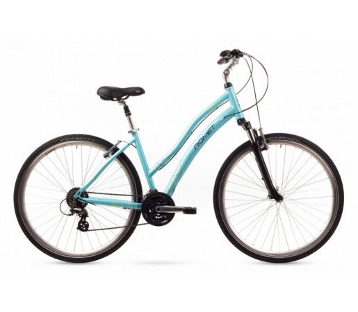 Bicicleta oras Romet Perlle Turcoaz 2016