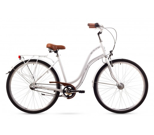 Bicicleta oras Romet Pop Art 26 Alba 2016