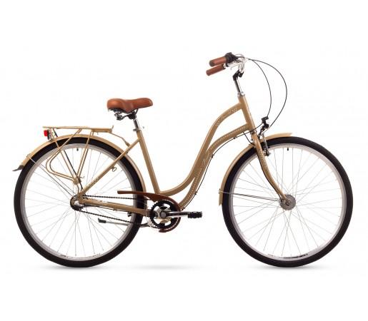 Bicicleta oras Romet Pop Art Crem 2016
