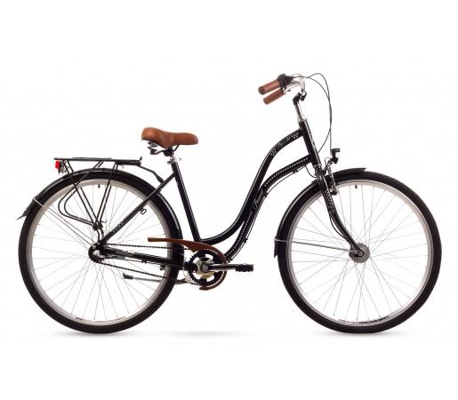 Bicicleta oras Romet Pop Art Neagra 2016