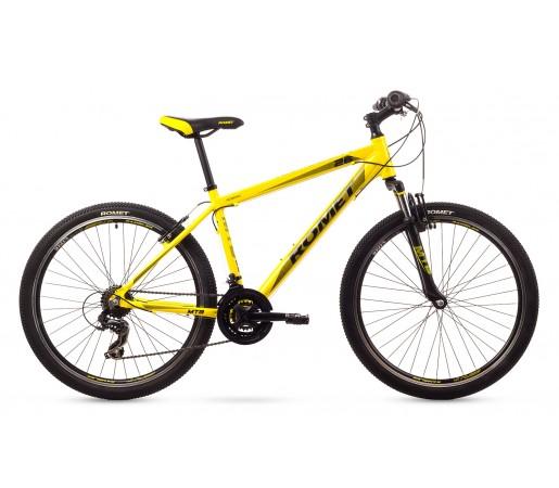 Bicicleta de munte Romet Rambler 26 1 Galbena 2016