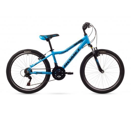 Bicicleta copii Romet Rambler 24 Albastra 2016