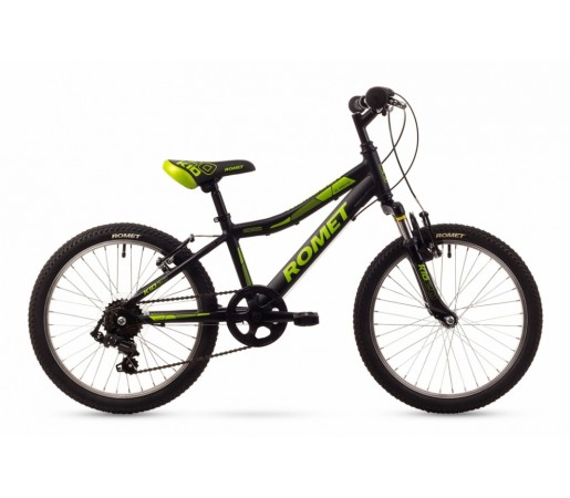 Bicicleta copii Romet Rambler Kid 20 Neagra 2016