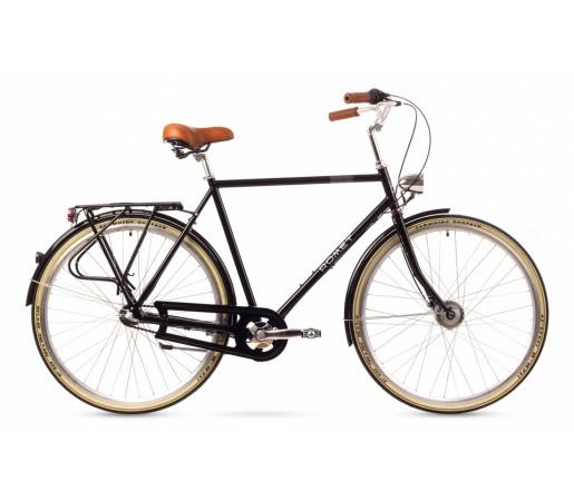 Bicicleta oras Romet Retro Neagra 2016