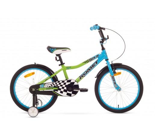 Bicicleta copii Romet Salto 20 Albastru/Verde 2016