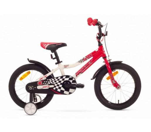 Bicicleta copii Romet Salto G 16 Alb/Rosu 2016