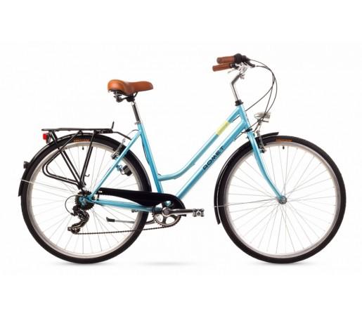 Bicicleta oras Romet Vintage D Albastra 2016