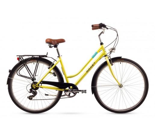 Bicicleta oras Romet Vintage D Galbena 2016