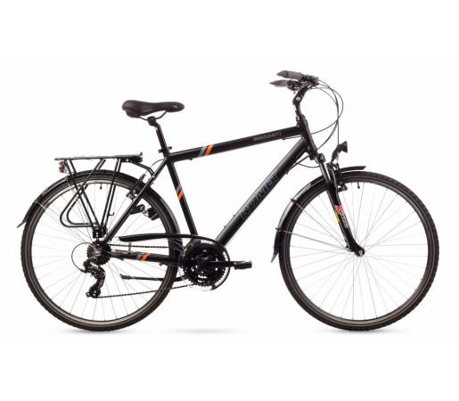 Bicicleta trekking Romet Wagant 1 Negru/Galben 2016
