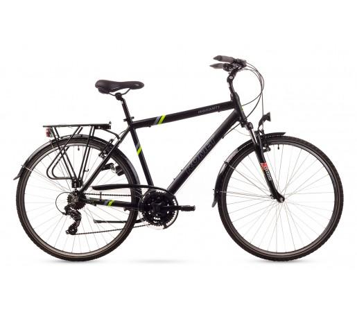 Bicicleta trekking Romet Wagant 1 Negru/Verde 2016