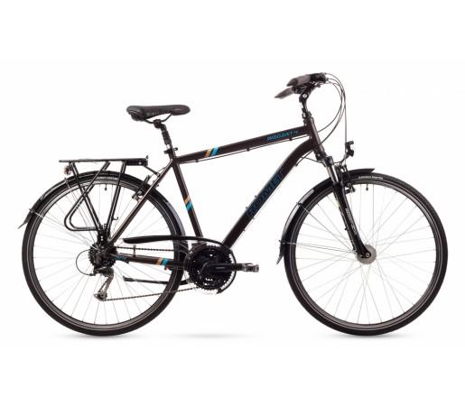 Bicicleta trekking Romet Wagant 4 Neagra 2016