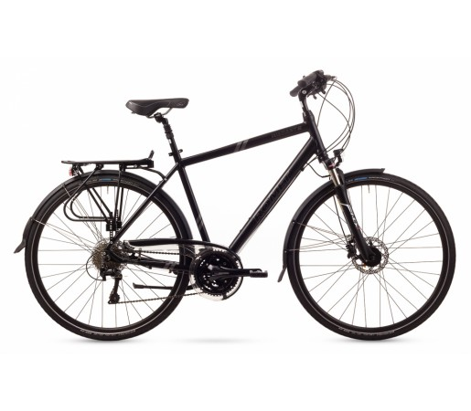 Bicicleta trekking Romet Wagant 6 Neagra 2016
