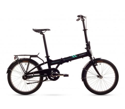 Bicicleta pliabila Romet Wigry 2 11 Neagra 2016
