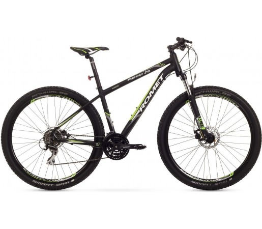 Bicicleta de munte Romet Rambler 29 2.0 Negru/Verde