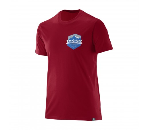 Tricou Salomon M Ultimate Rosu