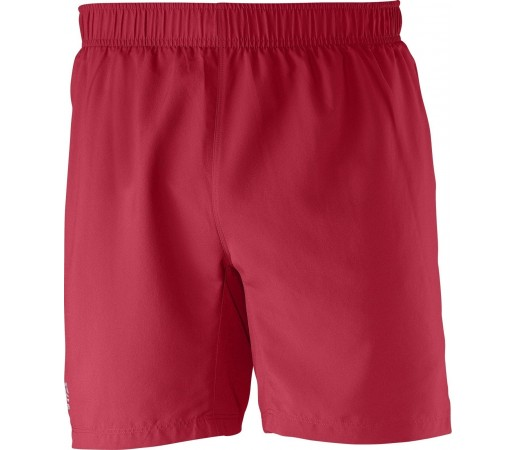 Pantaloni Salomon Trail Short M Rosu