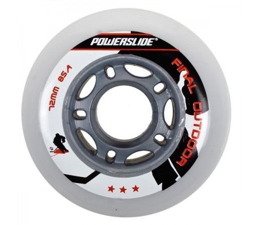 Roti Hockey Powerslide Final Indoor 72mm/85A Albe