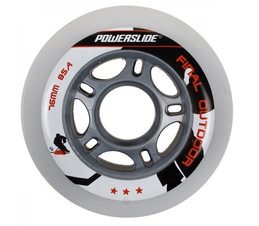 Roti Hockey Powerslide Final Indoor 76mm/85A Albe