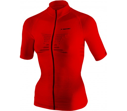 Tricou X-Bionic Biking Lady MTB  Raceline AD5 OW SH-SL Red