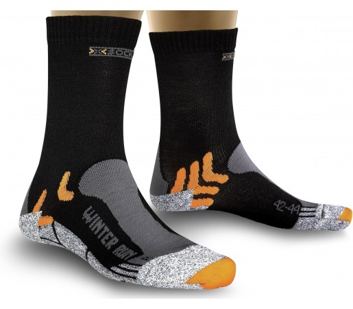 Sosete X-Socks Winter Run Black