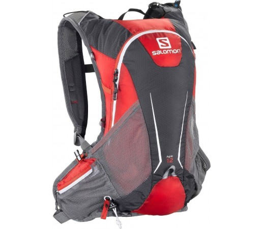 Rucsac alergare Salomon Agile 12 Set Red 2013