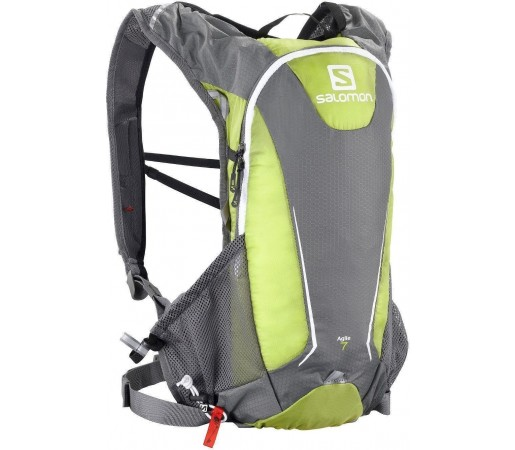 Rucsac alergare Salomon Agile 7 Set Green 2013
