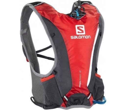Rucsac alergare Salomon Skin Pro 3 Set Red 2013