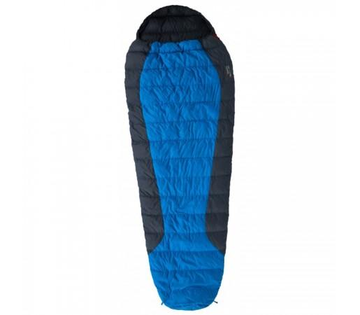 Sac de Dormit Warmpeace Viking 300 Albastru 195 cm