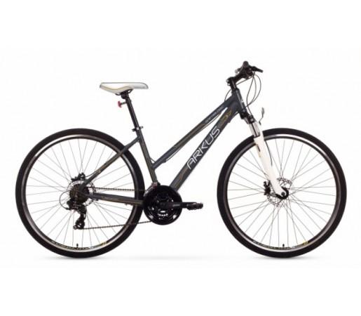 Bicicleta trekking Arkus Safari D Disc Gri/Portocaliu 2016