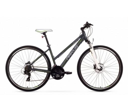 Bicicleta trekking Arkus Safari D Disc Gri/Verde 2016
