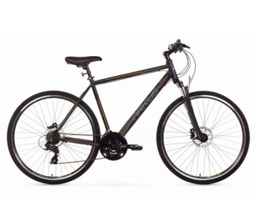 Bicicleta trekking Arkus Safari M Disc Negru/Portocaliu 2016