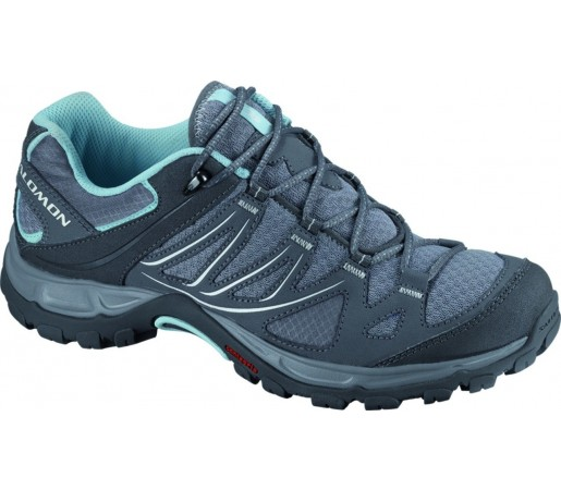 Incaltaminte hiking Salomon Ellipse Aero W Pewter/Detroit/Bl Gri